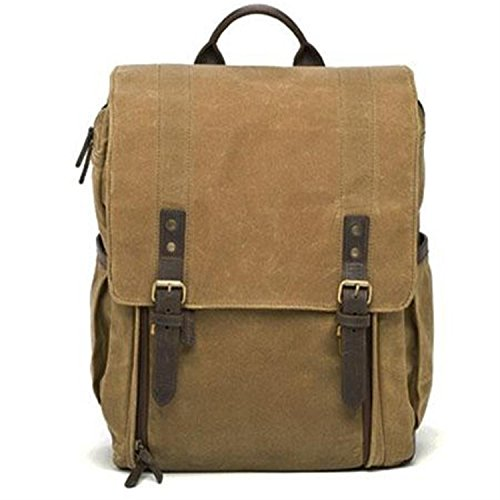 ONA Bags Fotorucksack, The Camps Bay Field Tan, Canvas, beige, Fotorucksack mit Laptopfach (Bag Bay)