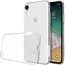 Nillkin Nature Ultra Thin Soft Silicone TPU Back Cover Case for Apple iPhone XR (6.1-inch, Transparent White)