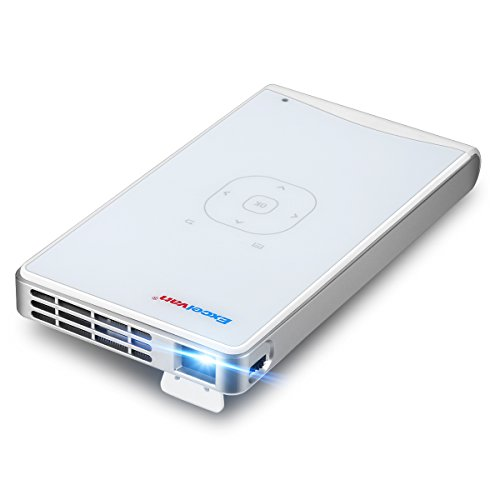 Compare Prices for Excelvan 100WM Portable Mini Pocket LED Smart Projector Buili-in Android Download Apps Freely Support Wifi Bluetooth Miracast Suitable for Home Outdoor Cinema Theatre,White Reviews