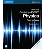({CAMBRIDGE IGCSE PHYSICS COURSEBOOK}) [{ By (author) David Sang }] on [September, 2014]