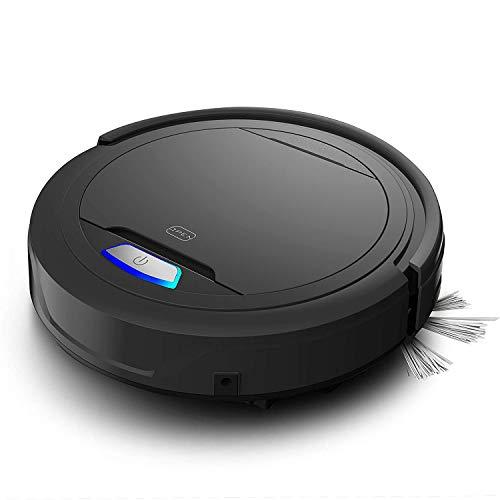 GLxlsbz Staubsauger Roboter, Freistehender Staubsauger Mit Leistungsstarkem Reinigungssystem, automatische intelligente Kehrmaschine,Für Tierhaare, Teppichböden Und Hartböden -