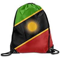 FAFANIQ AOOPK Flag of The West Timor Cool Gym Drawstring Bags Travel Backpack Tote School Rucksack