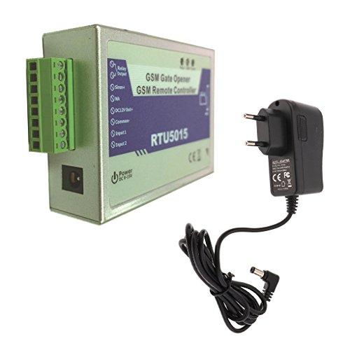 Baoblaze-Abridor-de-Puerta-Interruptor-de-Rel-Control-de-Acceso-Remoto-Accessories-Abatible-GSM-RTU5015