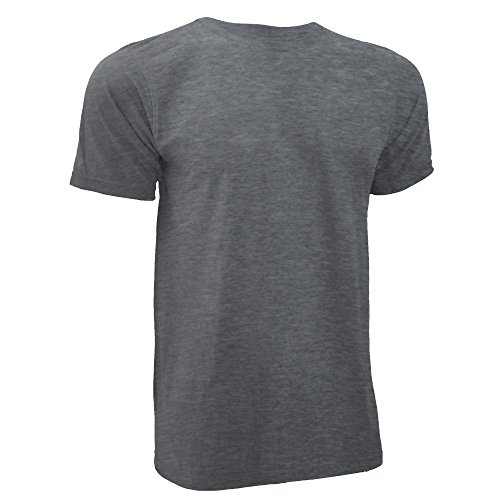Anvil Herren T-Shirt Substainable Tee Heather Blau