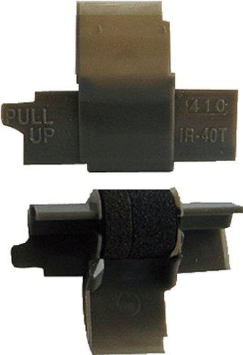 Casio Farbrolle/IR40T schwarz/rot Ink Roll 745