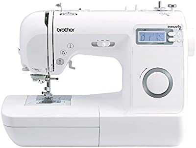 Brother 4977766712675-Maquina de Coser innov-ís 35, Blanco, L