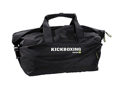 Kwon Reisetasche medium mit verschiedene Kampfsportmotive schwarz Kickboxing