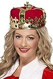 Königinnen-Krone mit Juwelen, One Size