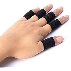 10x Abrazaderas Protector Protección Dedos Mano cintas Voleibol Baloncesto Artritis