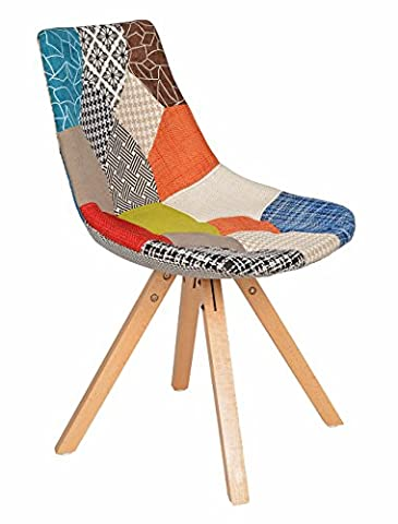 ts-ideen Designer chair wooden dining chair