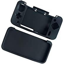 Street27 Comfort Silicone Cover Skin Case for Nintendo 2DS XL /2DS LL Game Console Anti-Slip Black
