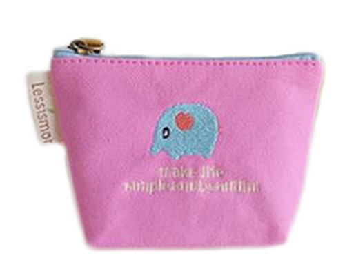 wdoit Mini Make-up Tasche Student Kinder Paket Coin Pocket Schlüssel Brieftasche Tasche ändern (Ändern Tasche Coin)
