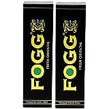 Fogg Fresh Deodorant Combo for Men, Oriental Black Series (Pack of 2)