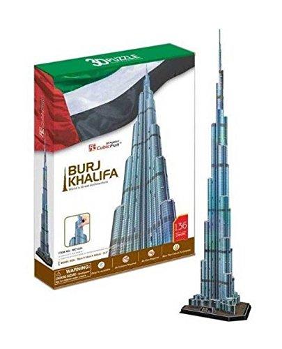 """CubicFun 3D Puzzle \""""Burj Khalifa - Dubai\"""""""