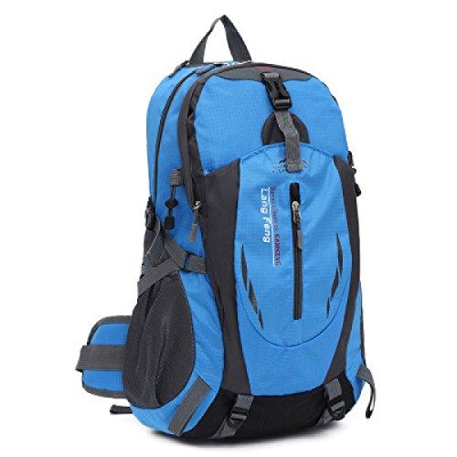 Thunfer Outdoor Uomini Borsa Sportiva E Donne Spalle 20 47 * 12 59 * 7 08 In,Black Blue