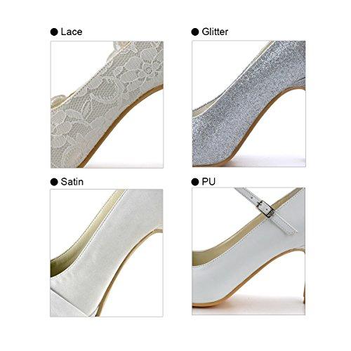 ElegantPark Tassa Supplemento per Clienti Personalizzare Servizio di Scarpe da Donna da Sposa Personalizzare Materiale
