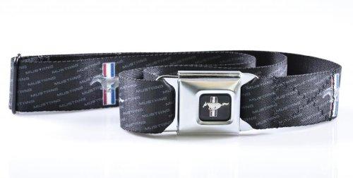 ford-mustang-w-texte-de-boucle-de-ceinture-de-securite