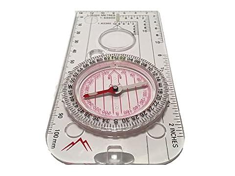 Navigation Kompass für Expedition Karte lesen, Orientierungslauf und Survival Bergsteigen