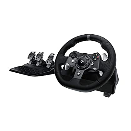 Logitech G920 Driving Force - Volante de carrer...