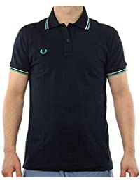 Fred Perry Polo Homme 30162009 BLEU MARINE SLIM FIT