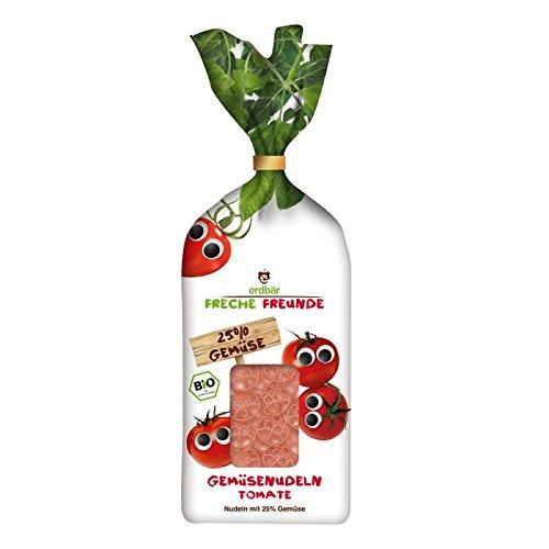 erdbär Freche amis légumes pâtes tomates 300g