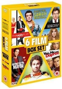6 Film Box Set: Definitely Maybe/About The Morgans?/Forgetting Sarah Marshall/Knocked Up/Ugly Truth/You, Me And Dupree [DVD] by