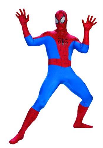 The Amazing Spider-Man: Deluxe Erwachsenenkostüm (US Größe 42-46) (Deluxe Amazing Spider Man Kostüm)