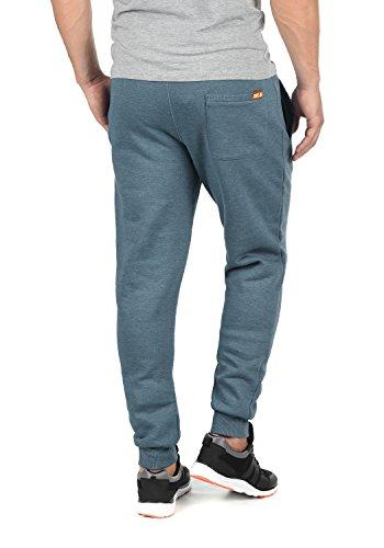 SOLID Benn Herren Jogginghose Sweatpants Sporthose mit kuscheliger Fleece- Innenseite aus hochwertiger Baumwollmischung Meliert Grey ...