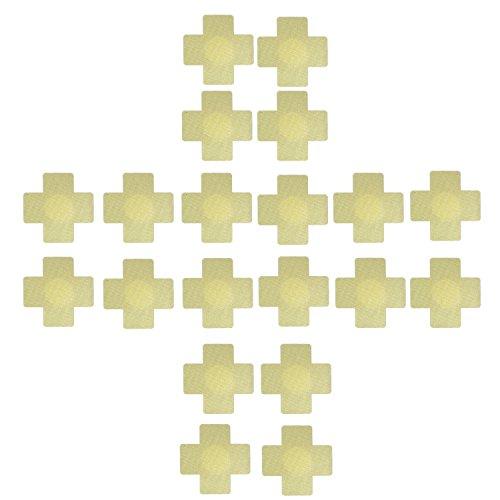 Ypser 10 Paar Multi Design Nippel Abdeckung Satin Pasties Einweg Brust Blütenblätter (Fashion-formen Brust Blütenblätter)