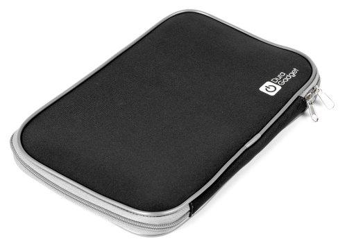 DURAGADGET Schwarze Neoprenhülle für Boogie Board LCD Tablet 10.5