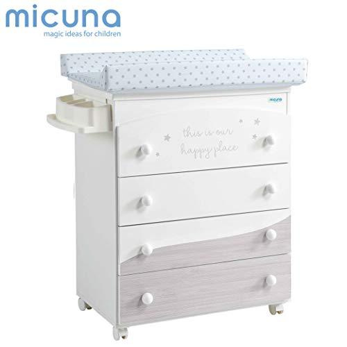 Micuna - Bañera - Cambiador Cosmic Micuna 0M+