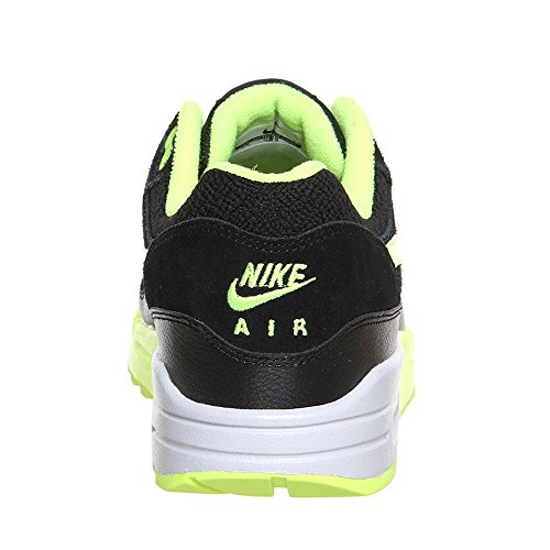 Nike, Wmns Air Max 1 Essentiel, Scarpe Sportive, Donna Black / Lime