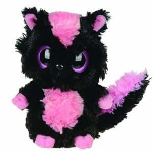 YooHoo & Friends Plüschtier Stinktier, Skunk Sparkee, schwarzes Kuscheltier ca. 13 cm