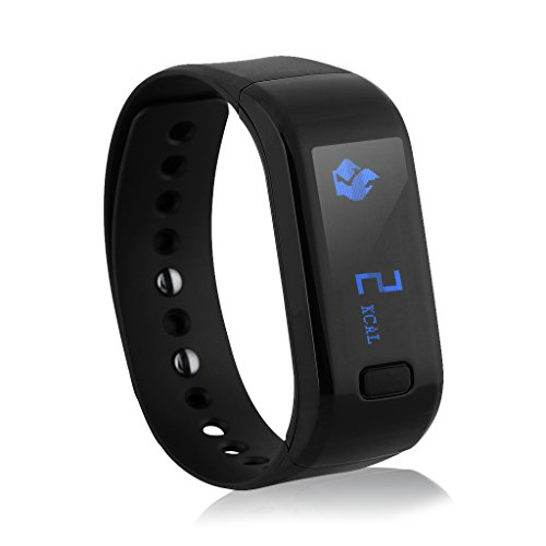 Excelvan Moving Up – Impermeable Pulsera Actividad Deportiva Bluetooth 4.0