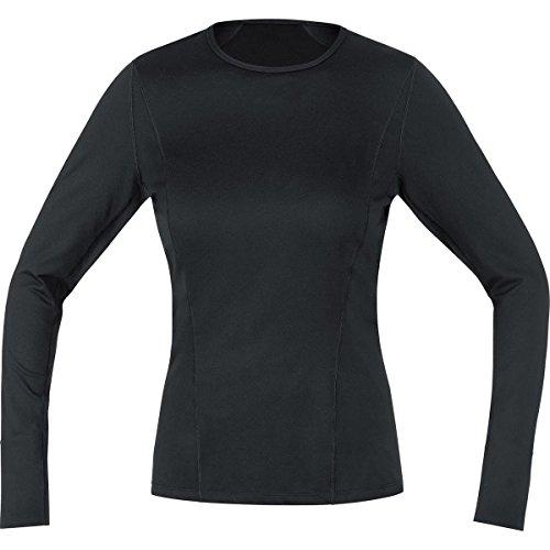 GORE WEAR Damen Teamtrikot Base Layer Thermo Shirt Long Trikots & Teamtrikots, Black, 40 Active Run Thermal