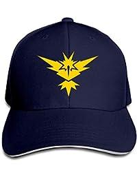 Cap Hat Unisex Adult Pokemon GO Zapdos Snapback Hats Baseball Caps Navy 8c9a27bf843
