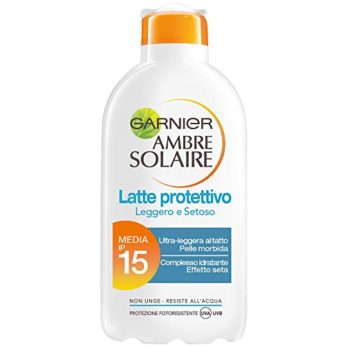 garnier-ambre-solaire-protezione-solare-latte-protettivo-leggero-e-setoso-ip-15-200-ml