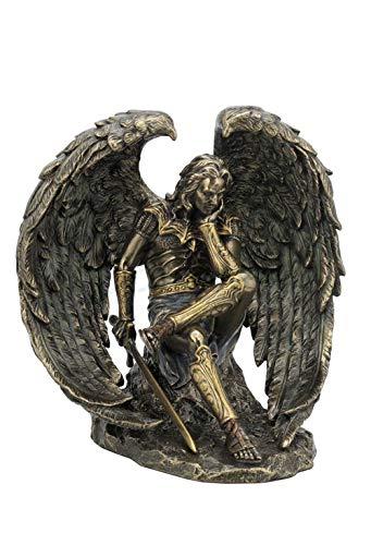 Gefallener Engel Lucifer/Bronze-Statue, Figur, Skulptur, hochwertige Figur (Statue Bronze Engel)