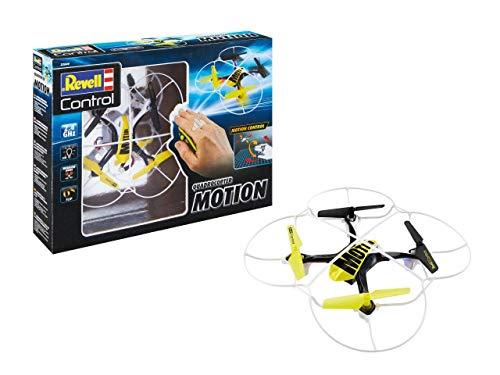 Revell Control Quadcopter Motion 2,4 GHz Fernsteuerung für Einsteiger mit stabilem Chassis 23840