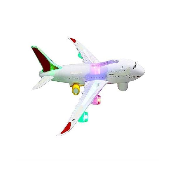 AirBus A380 Aeroplane Battery Operated (Design and Color may vary)