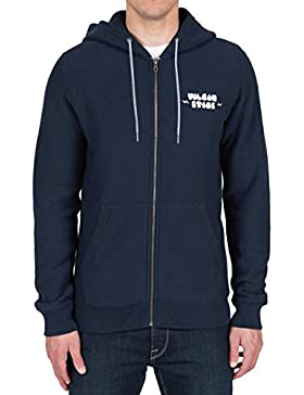 Volcom 'Two Shirts' Zip Hood. Navy.