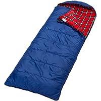 skandika Erwachsene Schlafsack Dundee Decken-Schlafsack | Luxus-Qualität | Sehr geräumiger Schnitt | bis -20°C | 220x80 cm | koppelbar