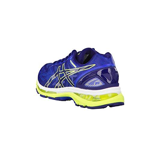 Asics Gel-Nimbus 19, Chaussures de Course Homme Bleu (Indigo Blue/safety Yellow/electric Blue)