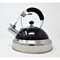 Cookspace 3.5litre en acier inoxydable Noir Induction bouilloire sifflante