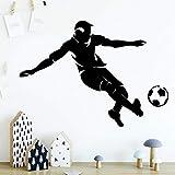 Tianpengyuanshuai Personalisierte Hauptdekoration Vinyl Wandaufkleber geeignet für Baby Kinderzimmer Dekoration Wandkunst Aufkleber Tapete 54x75cm