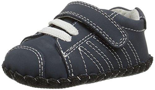Pediped Jake, Baby Jungen Lauflernschuhe Sneaker, Blau (Navy), 12-18 Monate (Pedipeds Baby Schuhe)