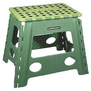Faltbarer Tritt Hocker James XL – grün