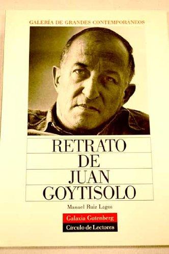 Retrato de Juan goytisolo por M. Ruiz Lagos