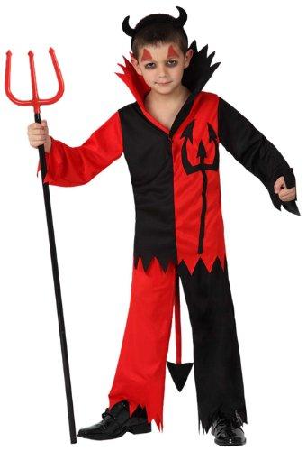 Preisvergleich Produktbild Atosa 8422259149606 - Verkleidung Teufel Jungen,  Größe: 128