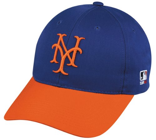New York Mets Erwachsene Cooperstown Collection Offiziell lizenzierte MLB Baseball Cap/Hat New York Mets Baseball